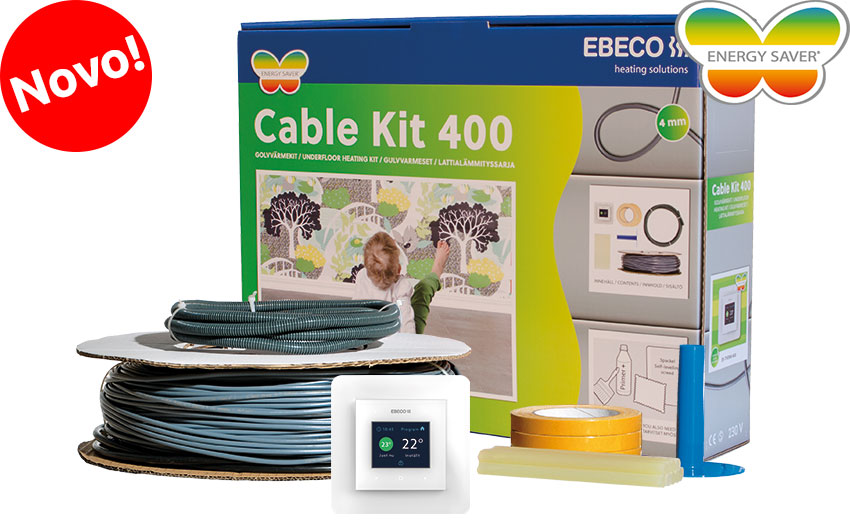 Set za talno ogrevanje Ebeco Cable Kit 400