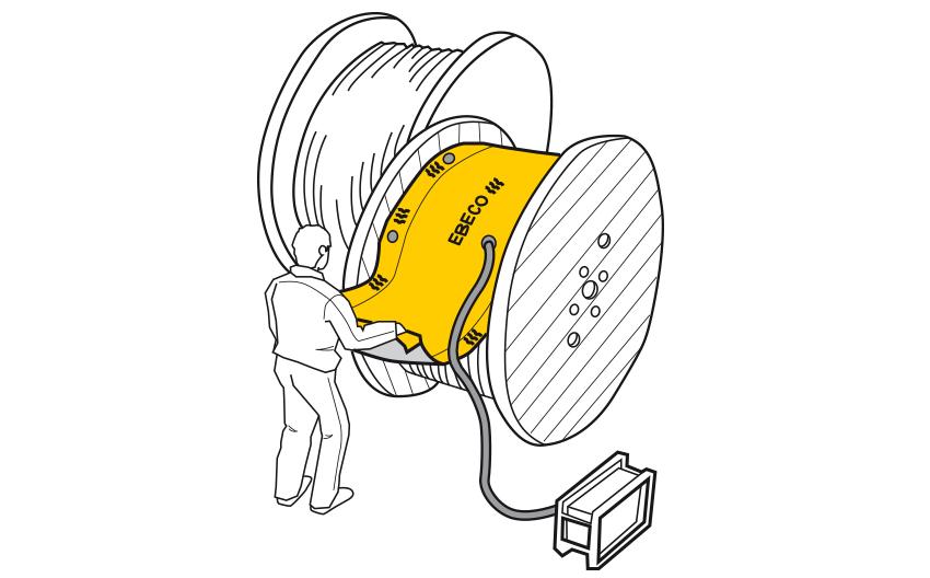 Ebeco preproga za odmrzovanje kablov in cevi