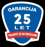ebeco garancija 25 let